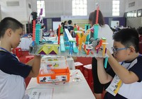 Kinh ngạc sáng tạo robot của học sinh tiểu học