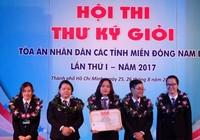 TAND TP.HCM đoạt giải nhất Hội thi Thư ký giỏi