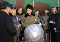 Ông Kim Jong-un chỉ đạo quân đội thử hạt nhân
