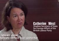 Quảng cáo Trung Quốc xuyên tạc lời nghị sĩ Anh về biển Đông