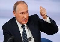 Tổng thống Putin sa thải đồng loạt 8 tướng lĩnh
