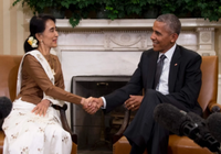Obama tiếp trọng thể bà Suu Kyi, sẵn sàng bỏ trừng phạt Myanmar
