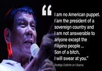 Duterte kêu Obama xuống địa ngục, sẽ đoạn tuyệt với Mỹ