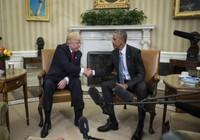 Vợ chồng Obama hoan nghênh vợ chồng Trump tại Nhà Trắng
