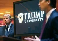 Ông Trump chi 25 triệu USD dàn xếp bê bối đại học Trump