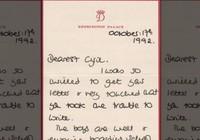 6 bức thư đấu giá và tình yêu con của Công nương Diana