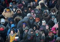 Dân Mỹ hồi hộp chờ Tổng thống Obama phát biểu chia tay