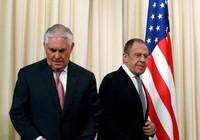 Tillerson gặp Putin, Lavrov: Kết quả nhỏ nhoi