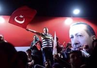Tổng thống Erdogan thắng trưng cầu dân ý