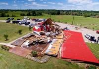 10 người chết vì bão và vòi rồng mạnh ở Mỹ