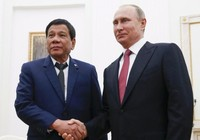 Ông Duterte mời ông Putin đến thăm Philippines
