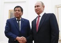 Ông Duterte mời ông Putin đến thăm Philippines