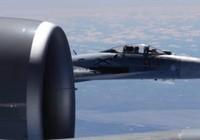 Mỹ công bố ảnh Su-27 Nga chặn đầu nguy hiểm RC-135 Mỹ