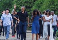 Ông Obama đưa vợ con trải nghiệm quê cũ Indonesia