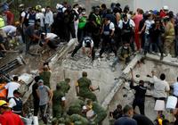 Mexico động đất lần 2 trong 10 ngày, 149 người chết
