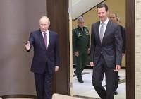 Ông Putin tiếp ông Assad, điện đàm ông Trump về Syria