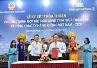 Thừa Thiên-Huế quảng bá du lịch bằng hàng không