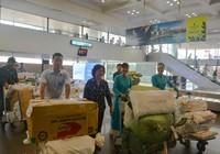 Vận chuyển miễn phí 2.5 tấn hàng cứu trợ bằng máy bay