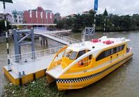 Chạy thử tuyến buýt đường sông đầu tiên của TP.HCM