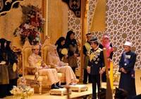 Đám cưới vô cùng xa hoa của Hoàng tử Brunei