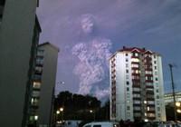 Kỳ lạ đám mây mang hình người khổng lồ