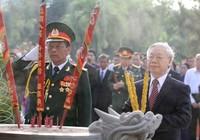 Lãnh đạo Đảng, Nhà nước viếng nghĩa trang liệt sĩ TP.HCM