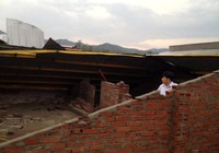 Nghệ An: Lốc xoáy làm 4 người bị thương