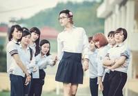Nam sinh mặc váy trong ảnh kỷ yếu chia tay tuổi học trò