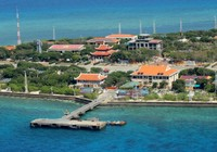 Ngắm toàn cảnh đảo Trường Sa lớn từ thủy phi cơ