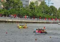 Quận 8 chiến thắng áp đảo tại giải đua thuyền truyền thống TP.HCM