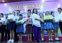 TP.HCM: Hàng vạn bản sách tặng học sinh nghèo ngoại thành