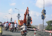 Cần Thơ: Chính thức cấm ô tô qua cầu Quang Trung