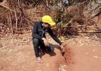 Dân hoang mang vì đất nứt bất thường