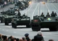 Chùm ảnh diễn tập mừng Ngày Chiến thắng của quân đội Nga