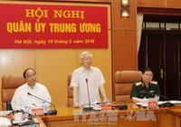 Công bố quyết định của Bộ Chính trị chỉ định Quân ủy Trung ương