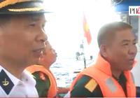Clip Hải quân Việt Nam thăm ngư dân trên biển Trường Sa