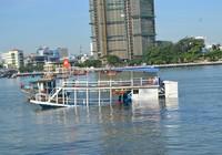 Clip nạn nhân kể lại giây phút tàu bị lật úp trên sông Hàn