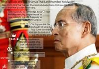 Infographics: Nhìn lại cuộc đời Quốc vương Thái Lan