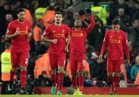 Liverpool lội ngược dòng đá bại Stoke City 4-1