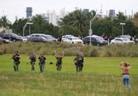 Hiện trường vụ xả súng ở sân bay Fort Lauderdale