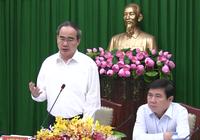 Bí thư Nguyễn Thiện Nhân làm việc với Công an TP.HCM