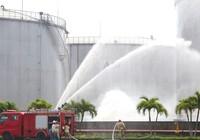 Clip: Diễn tập chữa cháy tại Tổng kho xăng dầu Nhà Bè