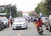 Ngàn người vui trên cây cầu mới qua sông Thu Bồn