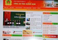 Công an tỉnh Quảng Nam ra mắt cổng thông tin điện tử