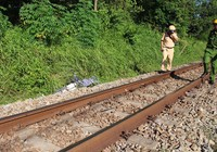 Băng qua đường, người phụ nữ bị tàu hỏa tông tử vong