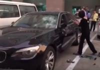 Clip: Đập nát siêu xe BMW vì chồng ngoại tình