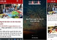 Báo Pháp Luật TP.HCM ra mắt ứng dụng trên nền tảng iOS