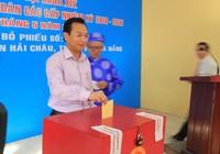 Bí thư Thành ủy Đà Nẵng Nguyễn Xuân Anh bỏ phiếu đầu tiên