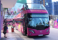 Tuyến xe buýt hai tầng... mui trần đầu tiên hoạt động