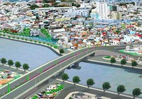 Bắt đầu xây cầu Nhị Thiên Đường 1 mới